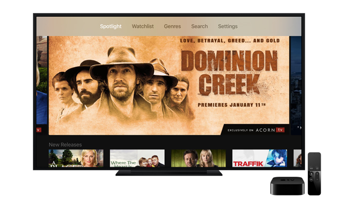 Now Available on Apple TV Updates to the Acorn TV app for